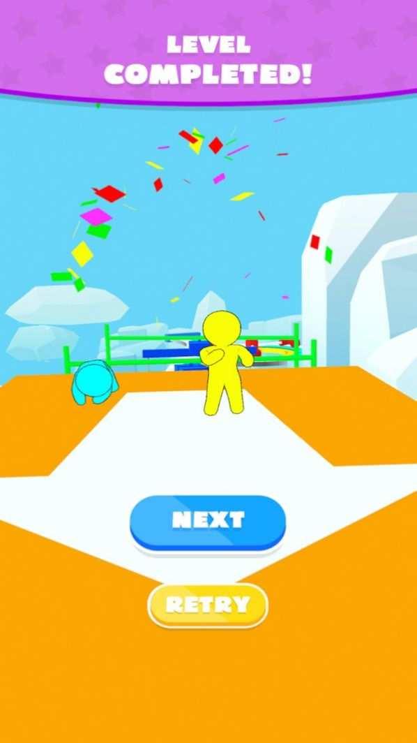 小人疯狂竞速游戏图片1
