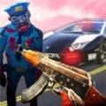 僵尸猎手警官游戏