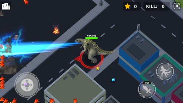 太空杀哥斯拉反击游戏图片1