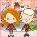 米加城堡学校生活游戏