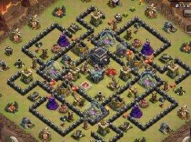 部落战争9本护资源与部落战神阵
