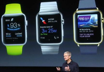 苹果手表的屏幕和iPhone究竟有多大不同?