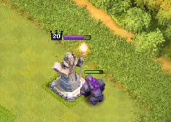 防御雕像!新英雄防守揭秘 部落冲突12月更新预告