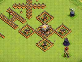 部落冲突联机游戏中是如何匹配对手的?