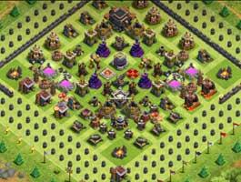 挑战绿化第一人!部落冲突玩家为种树摆地雷阵