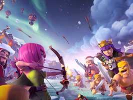 穿越时空!从12张游戏载入背景图看COC版本变迁