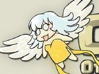 COC气球又来和天使作对 大魔王日常漫画