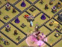 部落冲突巧破满防御10本新版护塔阵视频