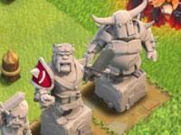 部落冲突英雄礼包分析!超级英雄雕像与野蛮人之王护肩