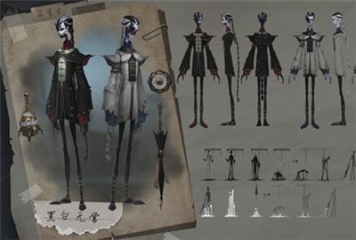第五人格黑白无常最新爆料 宿伞之魂设计曝光