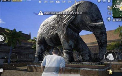 刺激战场里有八大景点 大象究竟能不能骑
