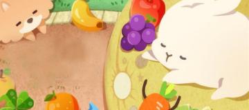 超萌兔子拼图游戏