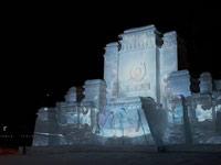 冰雪王者世界开幕 首创冰雪3D投影表演