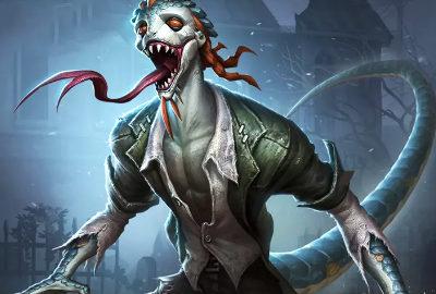第五人格蜥蜴人原画图片曝光 玩家妹纸直呼蜥蜴人好帅
