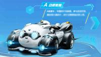 QQ飛車A車動感熊貓
