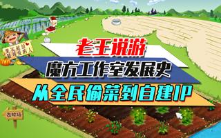 老王说游:魔方工作室发展史,从全民偷菜到自建IP!