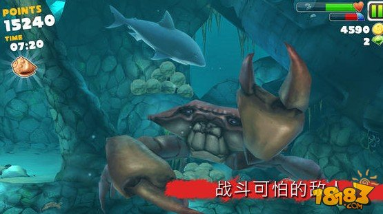 饑餓的鯊魚 Hungry Shark Evolution截圖