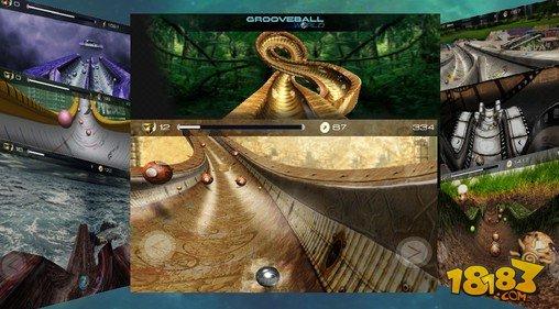 凹槽弹球世界 Grooveball World截图