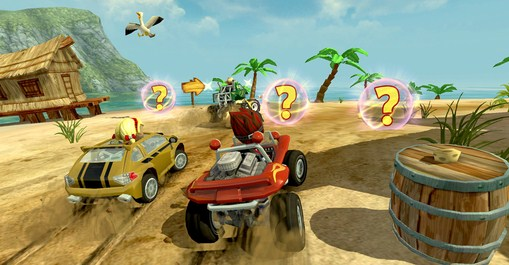Beach Buggy Racing截图