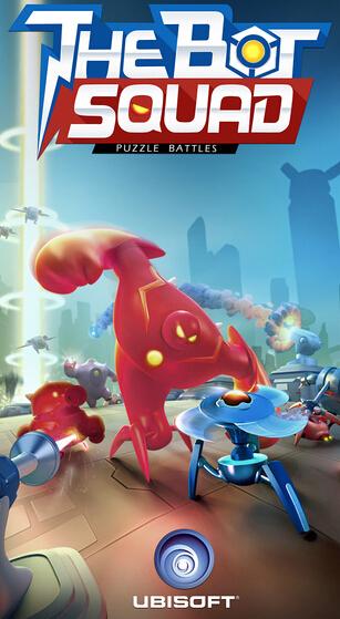 机器人小队:能攻能守的塔防截图