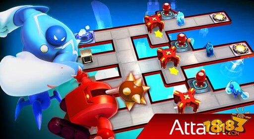 機器人小隊:能攻能守的塔防截圖