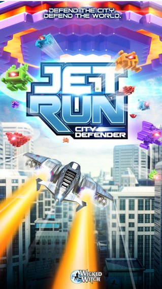 噴氣機跑酷:城市保衛者 Jet Run: City Defender截圖
