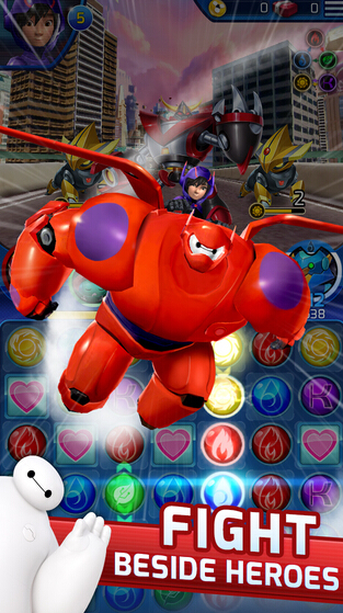 Big Hero 6 Bot Fight截图