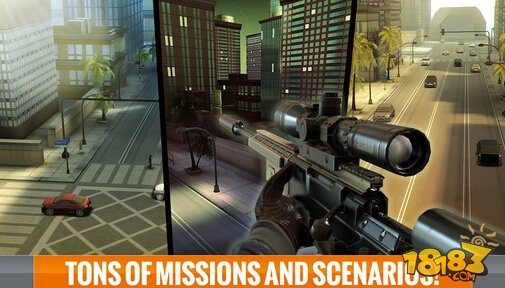 Sniper 3D Assassin: Shoot to Kill截图