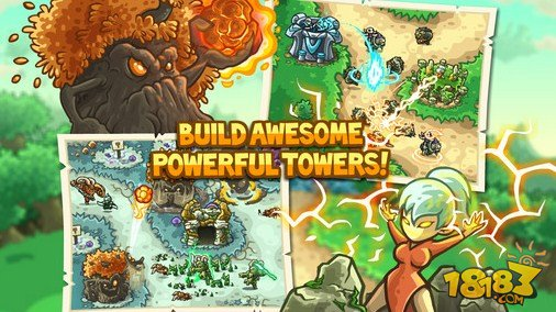 Kingdom Rush Origins截图