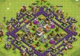 部落战争(Clash of Clans)8本鱿鱼阵分析