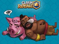 4级猪上2000 皇室战争萌新分享平民野猪流