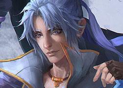 超赞画风:梦幻西游手游手绘-黑龙白剑