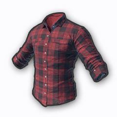 绝地求生刺激战场格子衫红色装饰品介绍