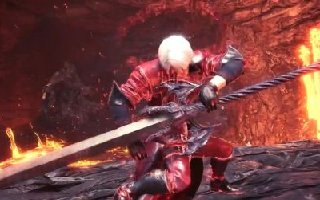 《怪物猎人:世界》联动《鬼泣》 出超帅无盾盾斧