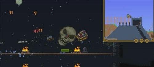 泰拉瑞亚BOSS骷髅王的掉落位置介绍