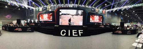 第一届CIEF中国国际电竞节圆满落幕 8强企业排名公布!