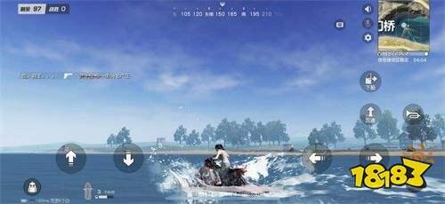 手握神兵称霸水域 《荒野行动》水上摩托详解