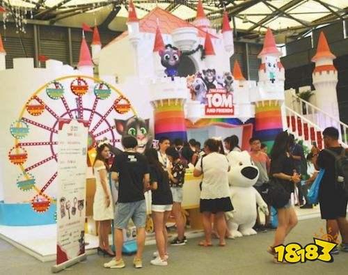 金科文化携《汤姆猫系列》再度参展2018 ChinaJoy BTOB