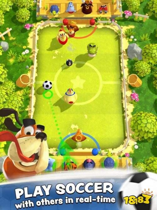 动物也为足球狂 《轰炸足球明星》上架iOS