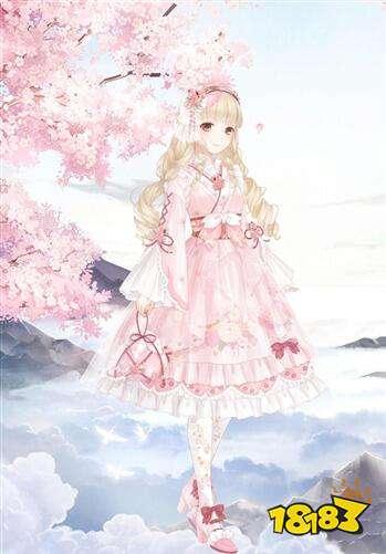 套装制作莉莉斯王国之樱绽春至 如何制作樱绽春至