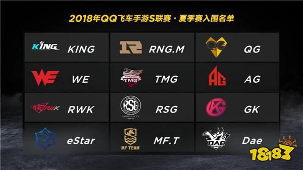 2018QQ飞车手游S联赛季前赛回顾
