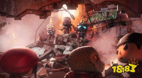微软E3发布会公布《战争机器》衍生手游《战争机器POP!》 明年发售