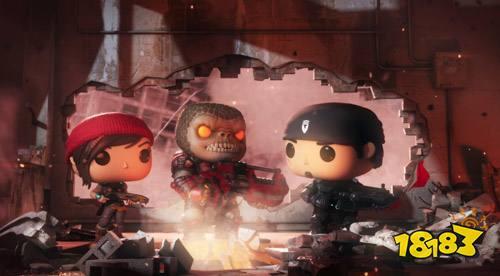 《战争机器》也要走可爱风 手游《战争机器POP!》公布