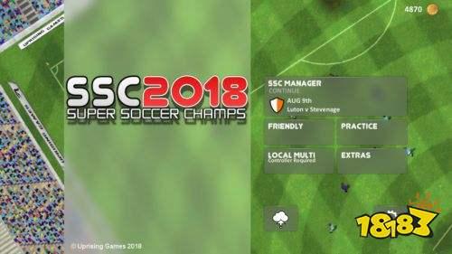 《超级足球冠军2018》新预告 争夺世界之巅