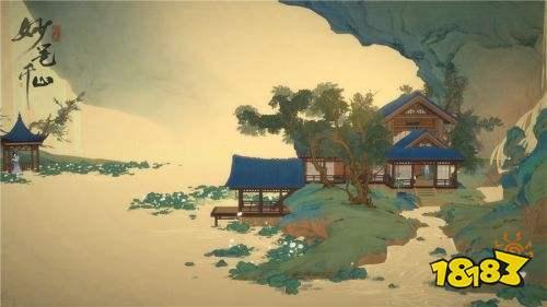 青绿山水画中游历 《绘真·妙笔千山》IOS首测定档6.20