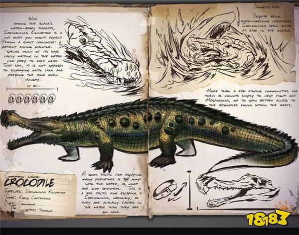 方舟生存进化帝王鳄怎么抓 帝王鳄图鉴