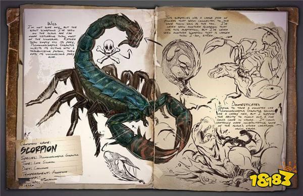 方舟生存进化普莫诺蝎怎么抓 普莫诺蝎图鉴