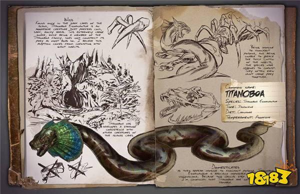 方舟生存进化泰坦蟒怎么抓 泰坦蟒图鉴