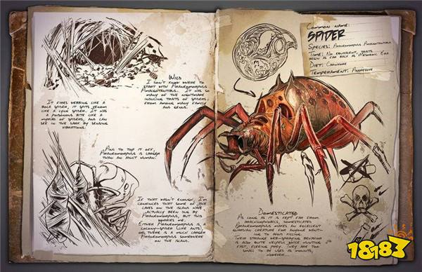 方舟生存进化蜘蛛在哪 手游蜘蛛图鉴