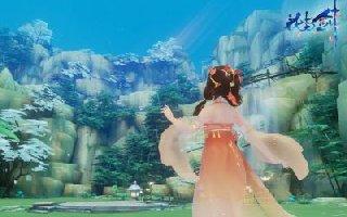 碧空俯瞰这胜景 《花与剑》飞空木鸢初曝光